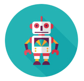 Дизайн логотипа для производителя робототехники