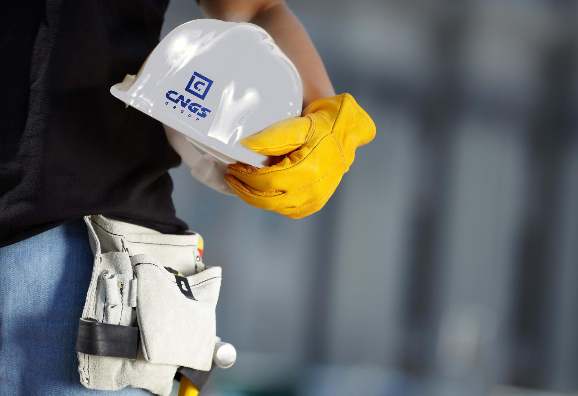Создание технического логотипа строительной компании