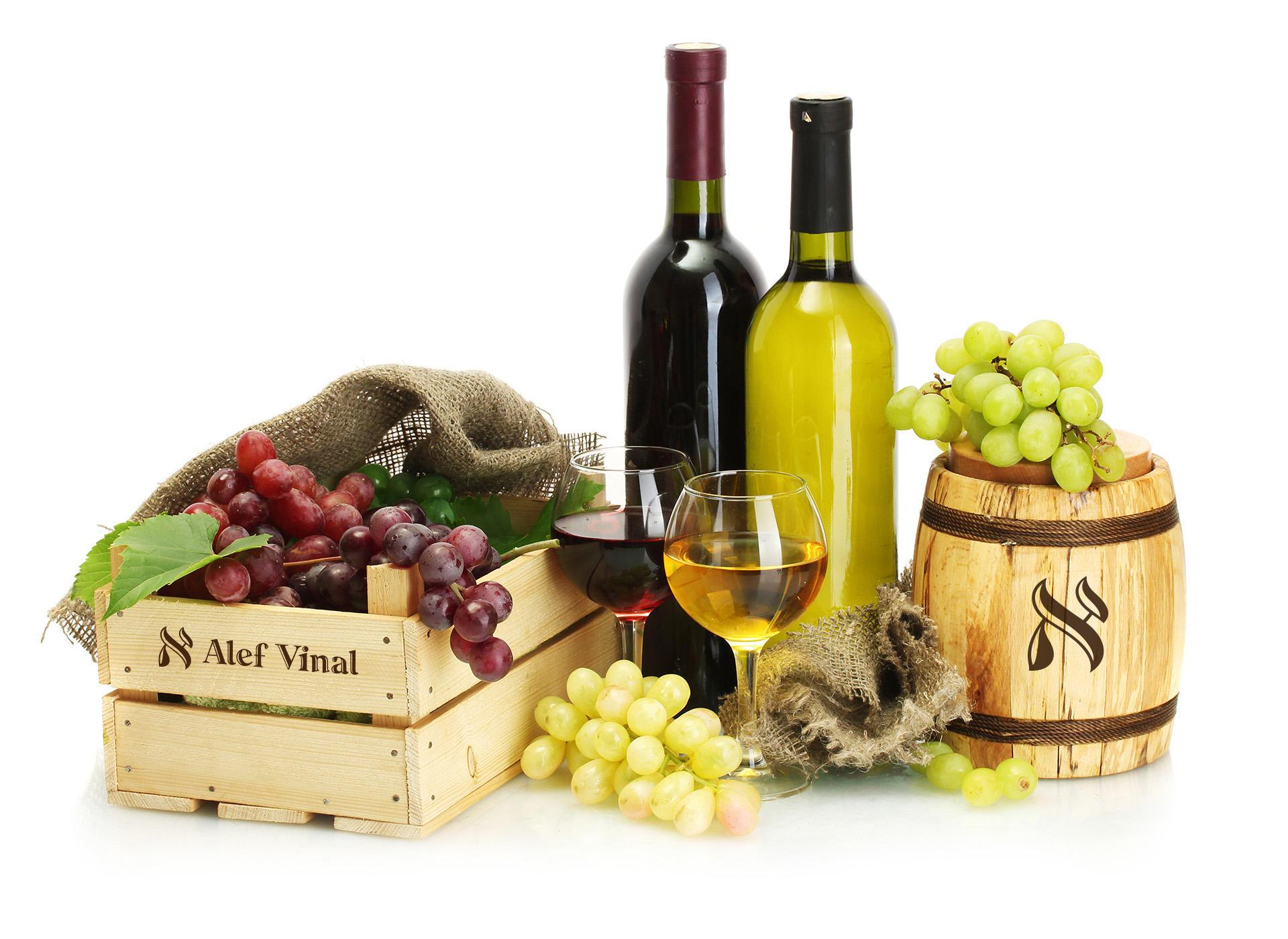Производство алкоголя дизайн логотипа, Alcohol production logo design
