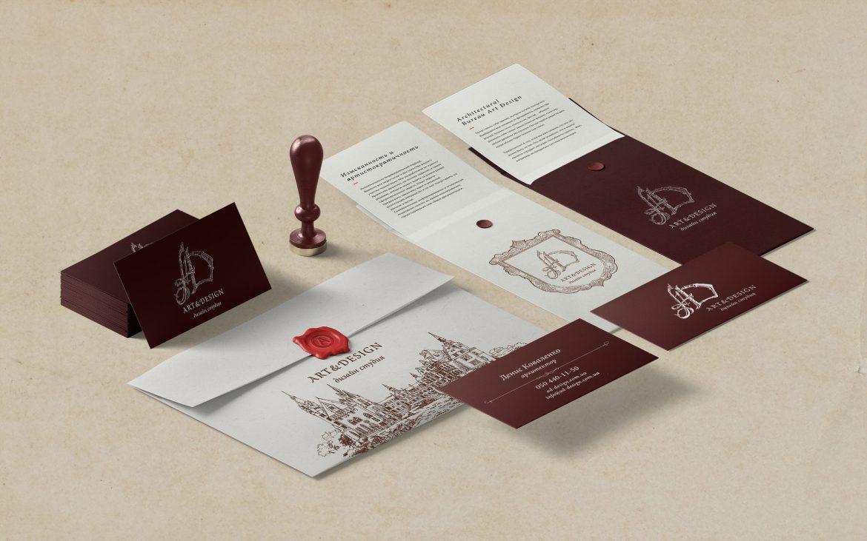 Дизайн фирменного стиля архитектурной студии, Architecture studio corporate identity