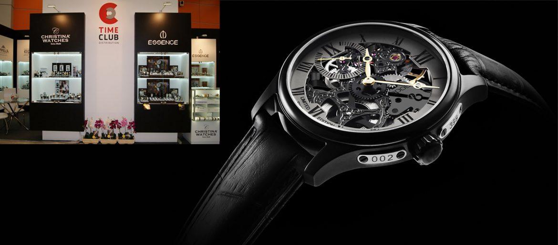 Фирменный стиль магазина часов