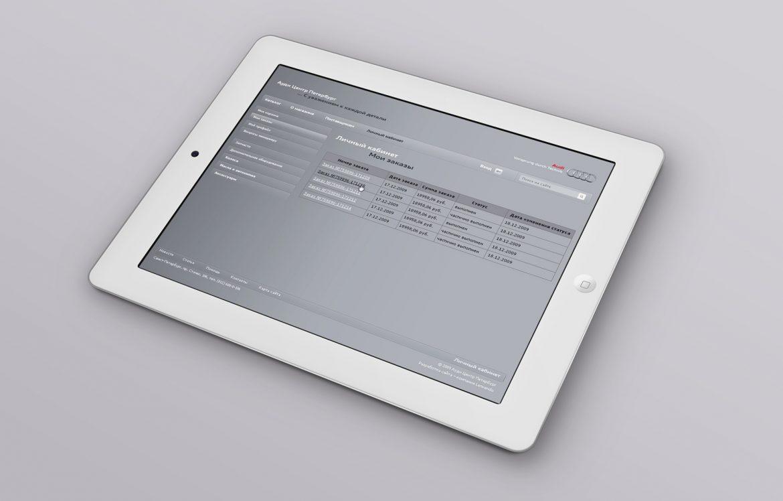 Разработка сайта для компании Audi