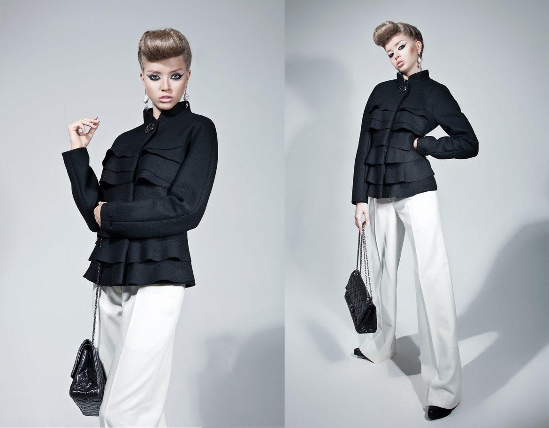 Фирменный стиль коллекции одежды, Clothing collection corporate identity