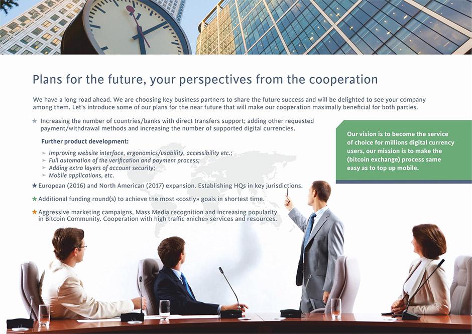Создание презентации для финансовой компании