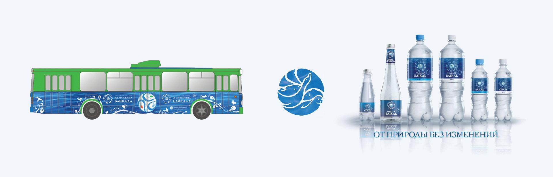 Дизайн логотипа минеральной воды
