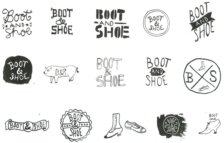 Разработка логотипа с иллюстрацией от руки