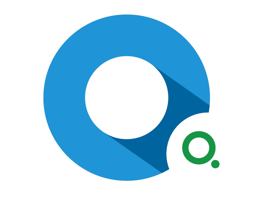 Логотип логистической компании материальный дизайн