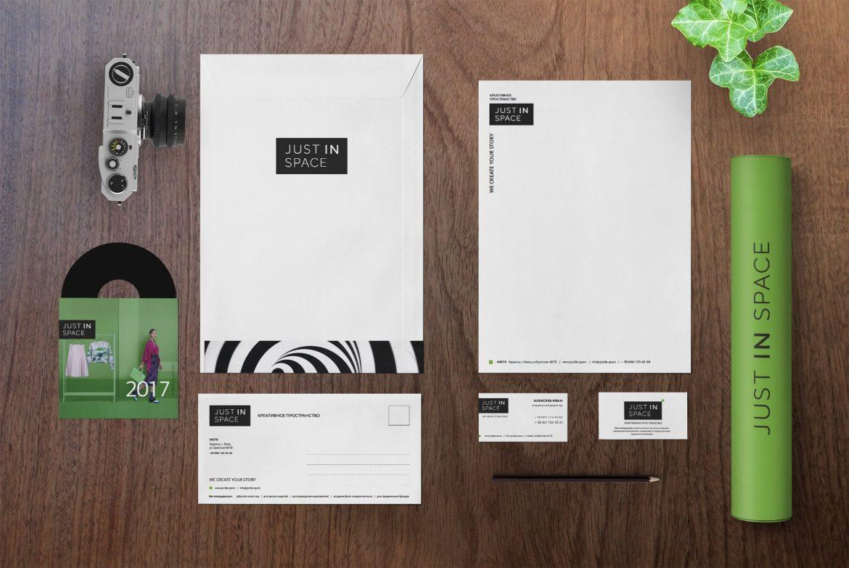 Создание фирменного стиля для креативного пространства