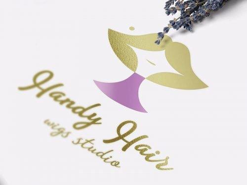 Разработка логотипа производителя париков