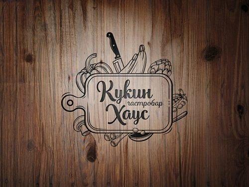Логотип в стиле арт деко