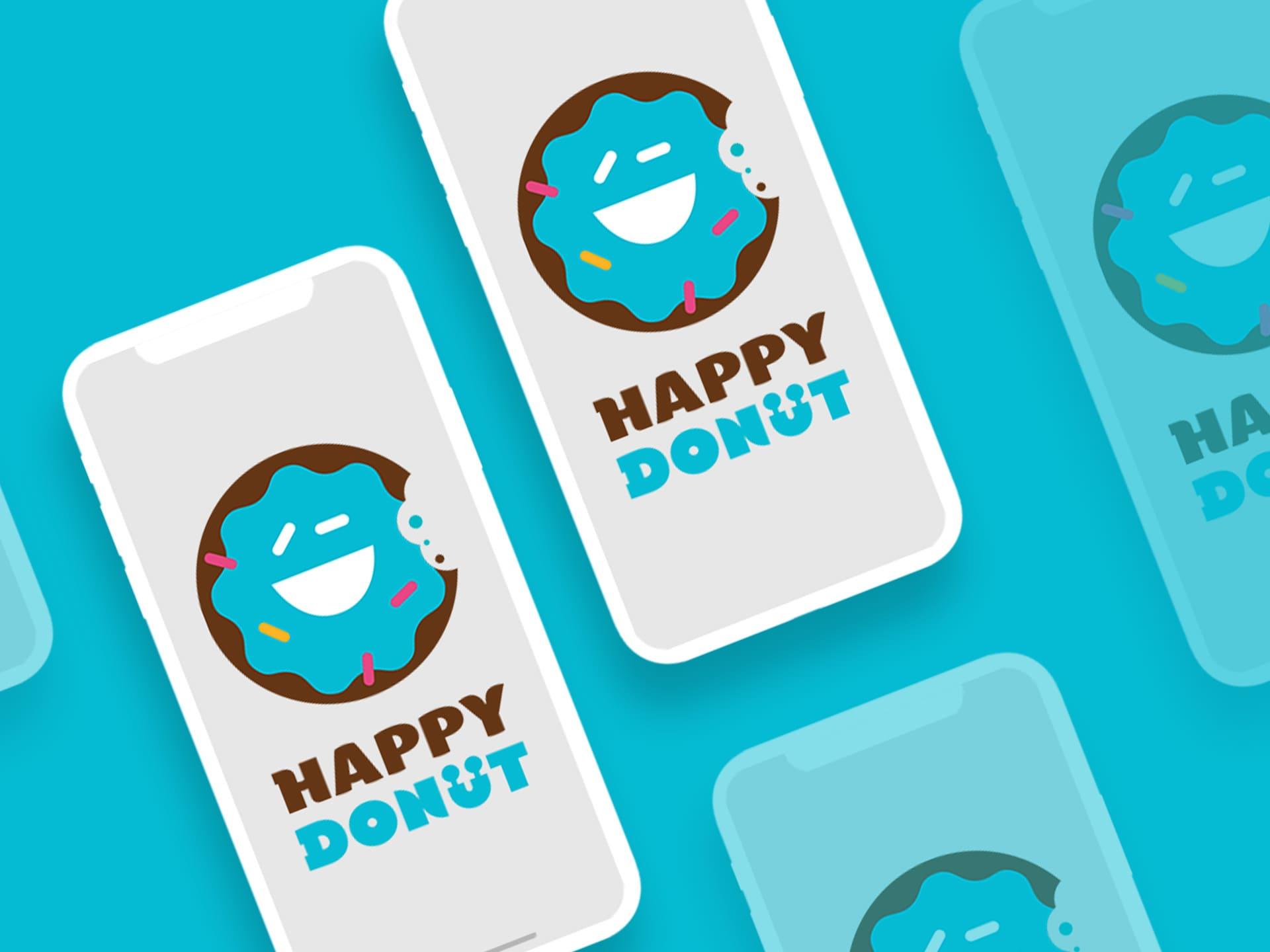 Дизайн логотипа для магазина сладостей
