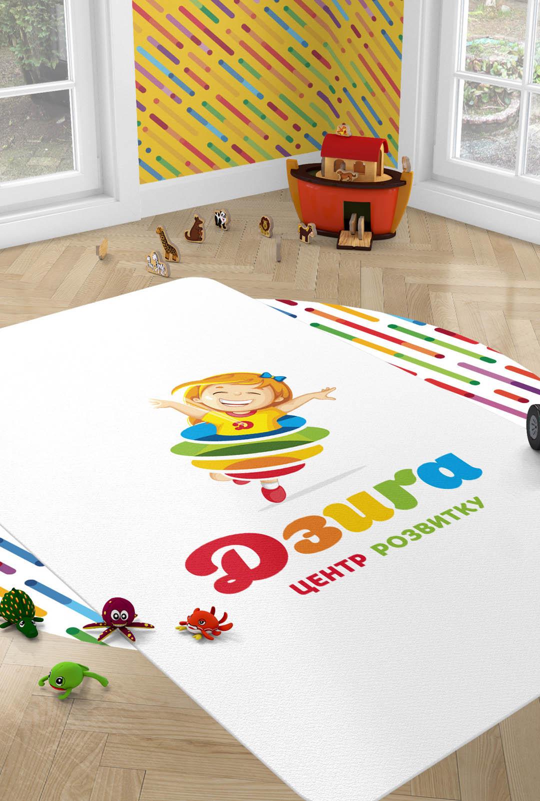 Дизайн логотипа детского центра