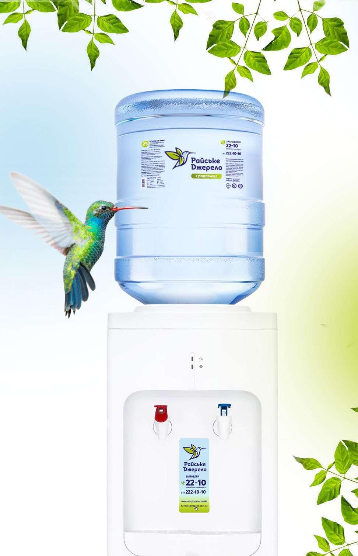 кулер для воды дизайн
