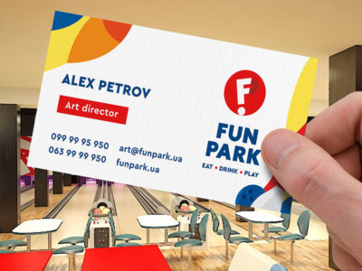 логотип игрового развлекательного центра Fun Park
