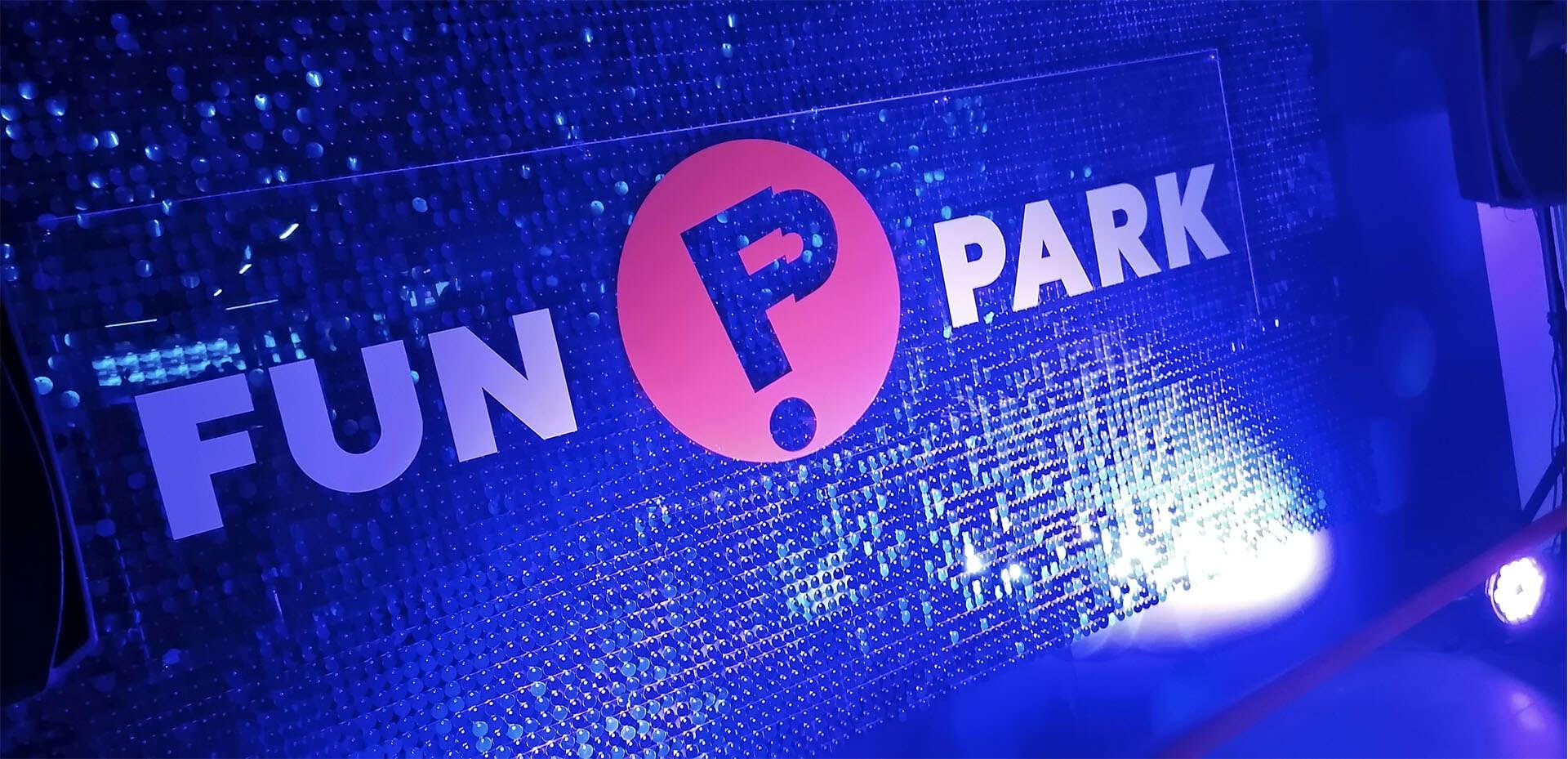 Fun Park логотип, интерьерная вывеска
