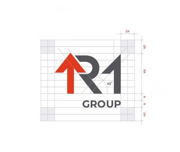 Логотип девелоперской компании R1