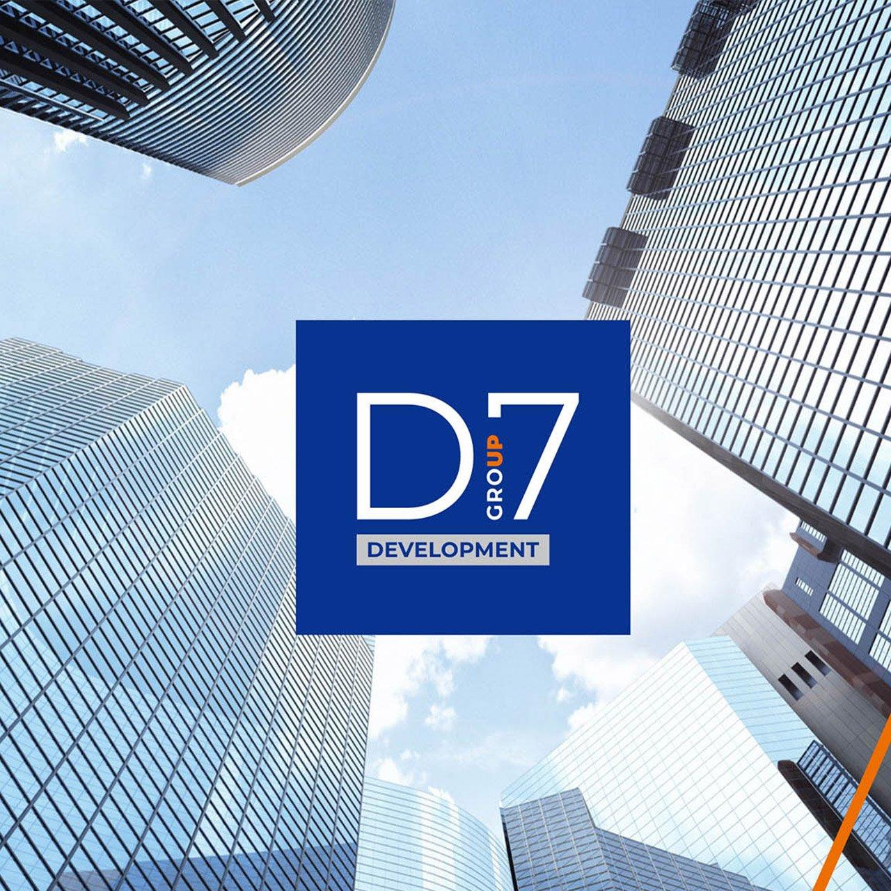 логотип девелоперской компании d7