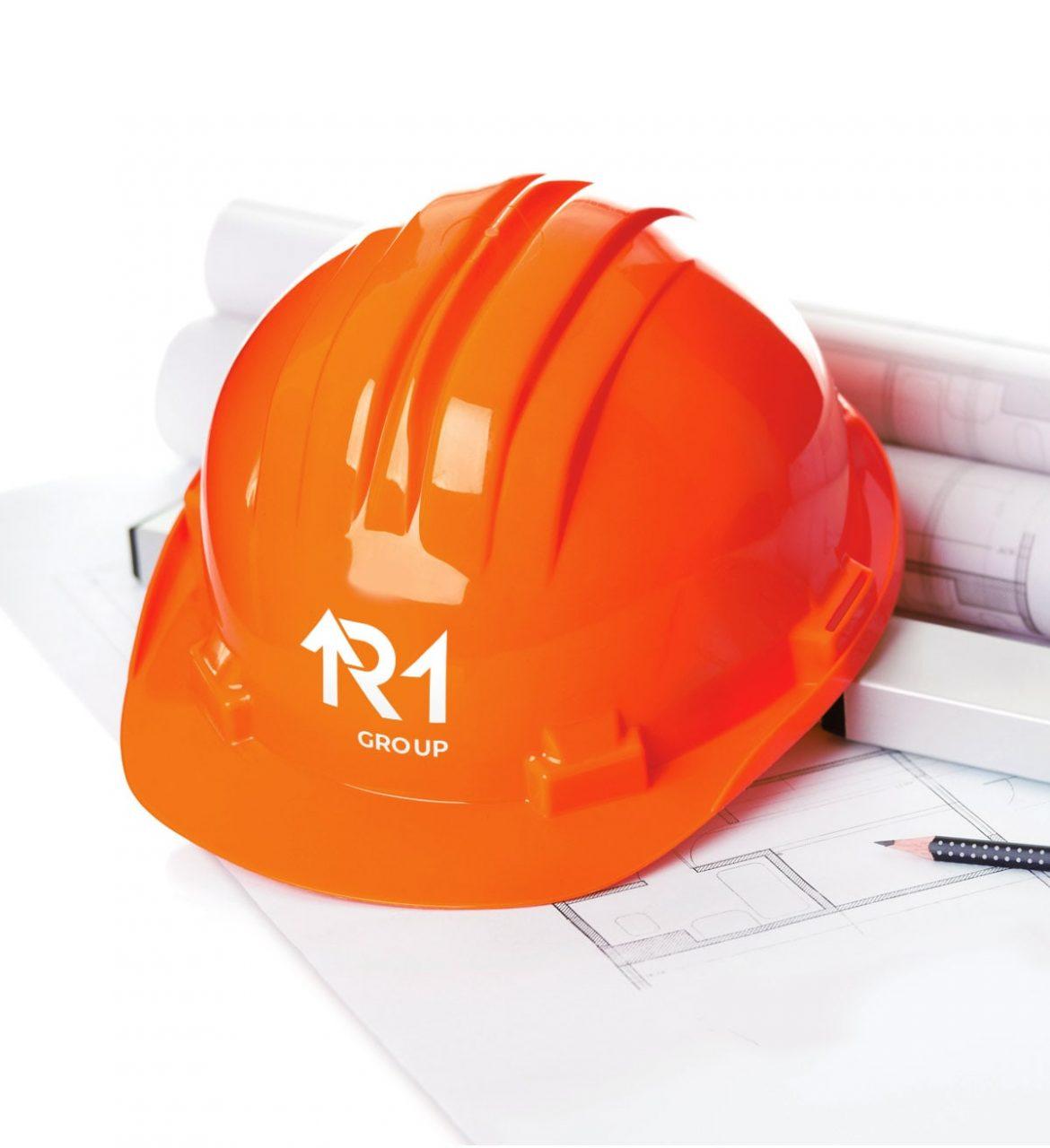 дизайн логотипа девелоперской компании R1