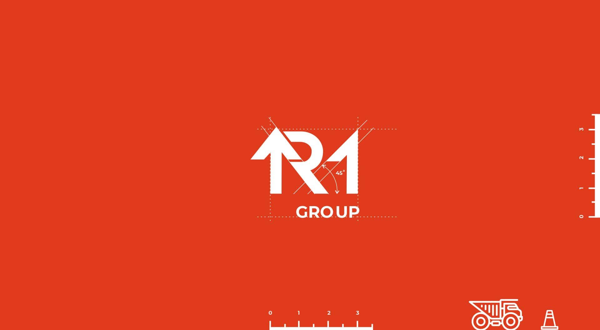 фирменный стиль девелоперской компании r1