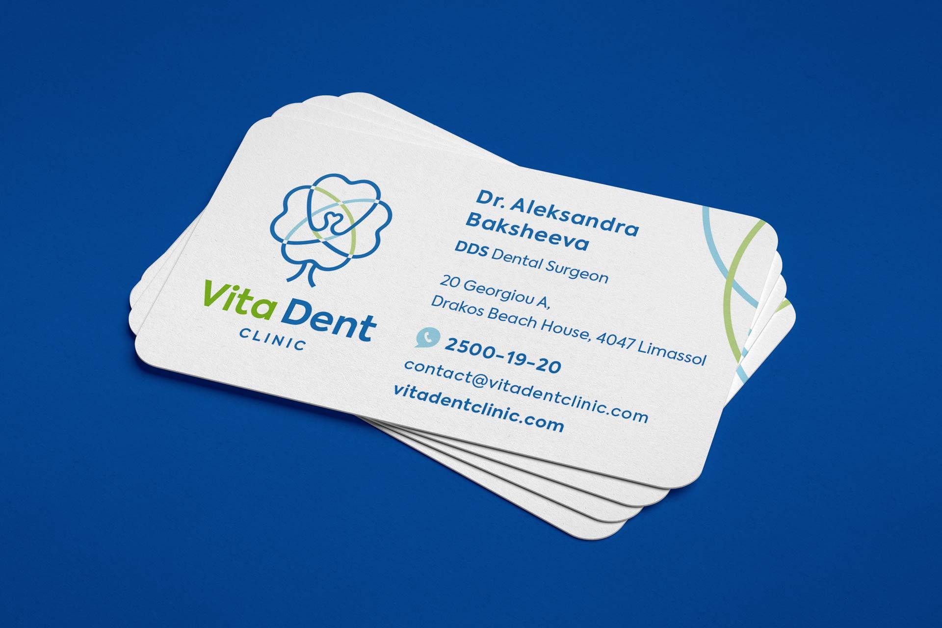 Визитка стоматолога