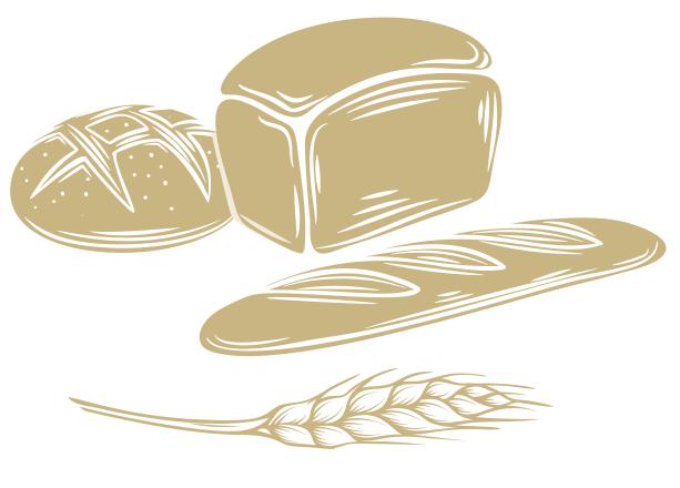 Хлеб иллюстрация