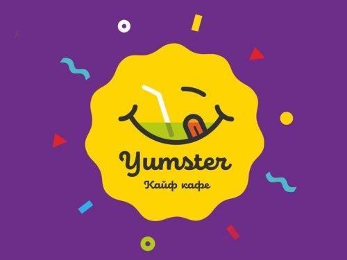 Создание логотипа и стиля фастфуд кафе «Yumster»