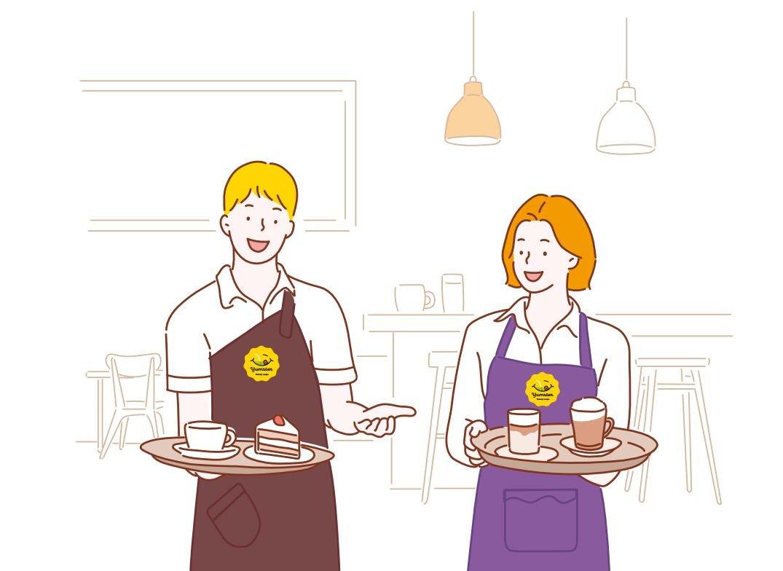 Разработка фирменного стиля для кафе «Yumster»