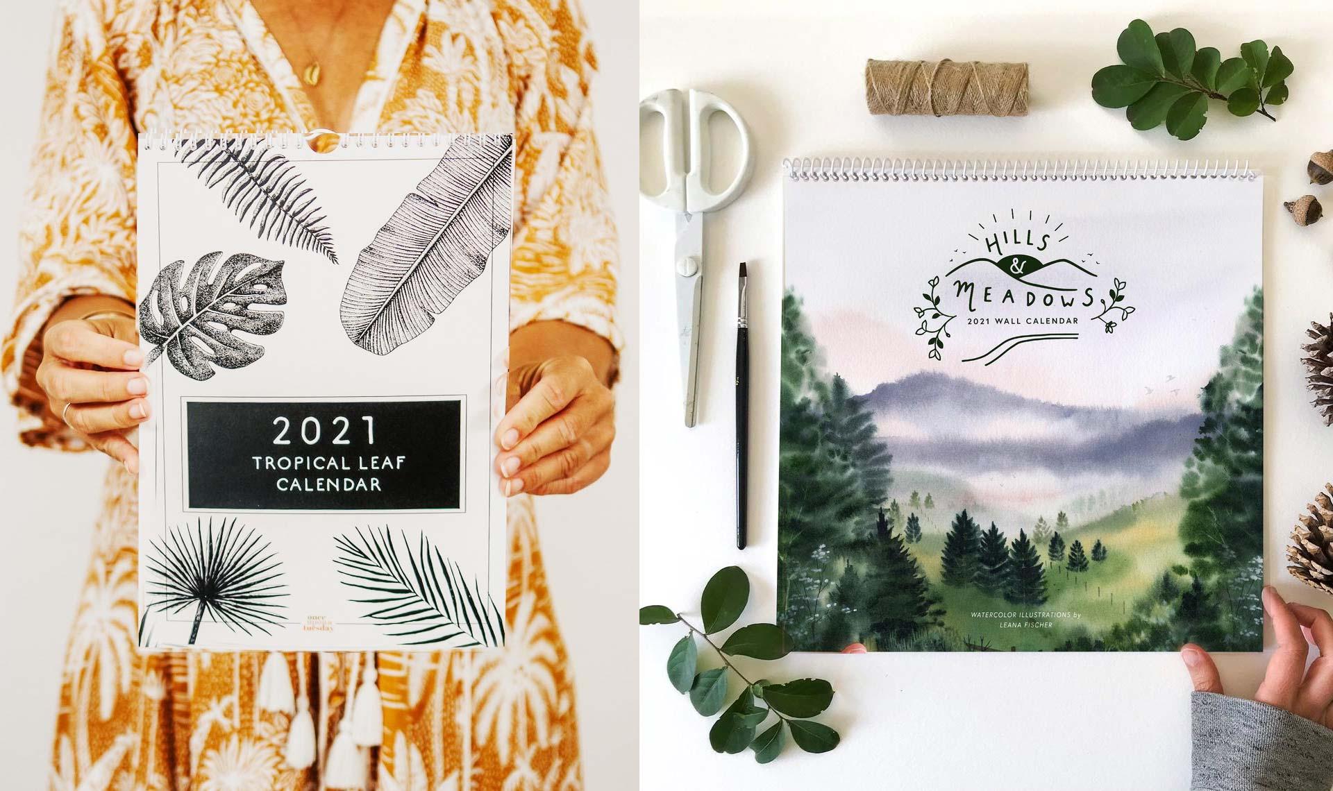 настенные календари дизайн