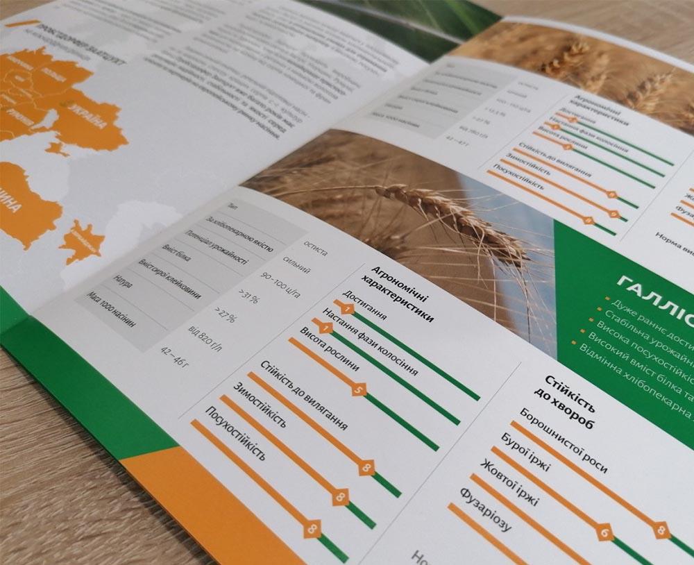 разработка полиграфии агрокомапании