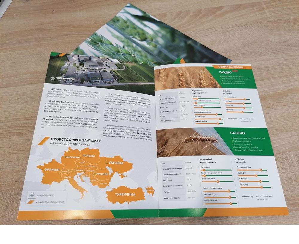 разработка каталога агрокомапании