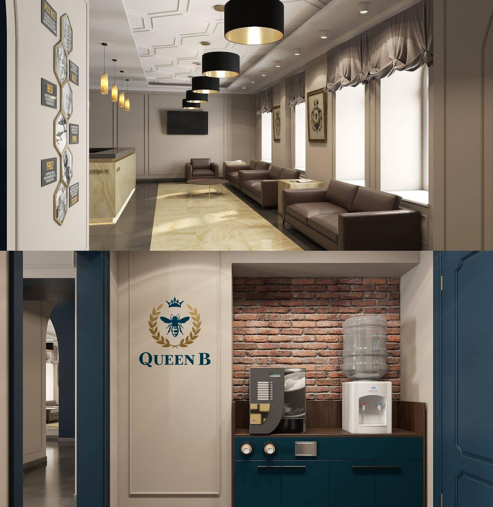 дизайн логотипа гостиницы