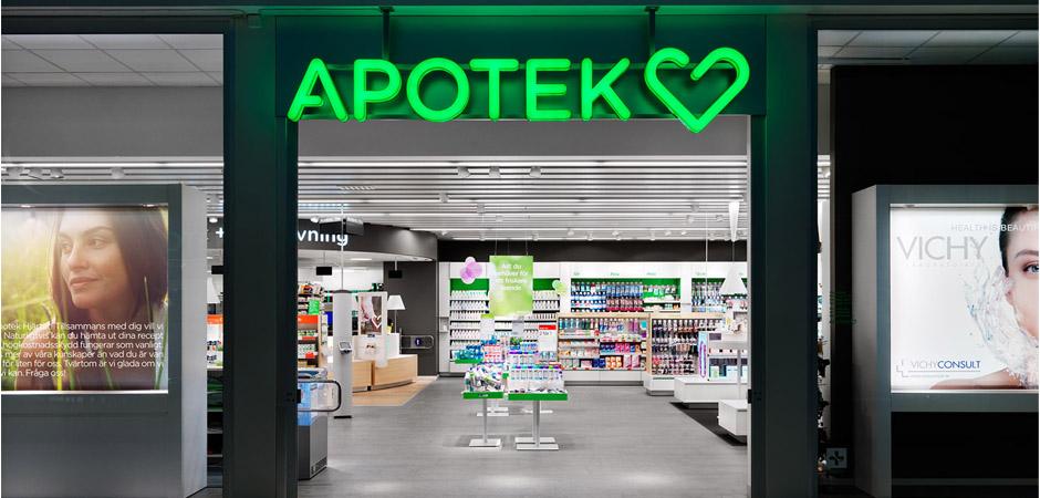 Вывески аптеки