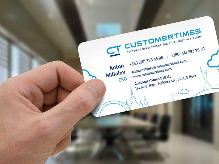 Логобук консалтинговой компании «Customertimes»