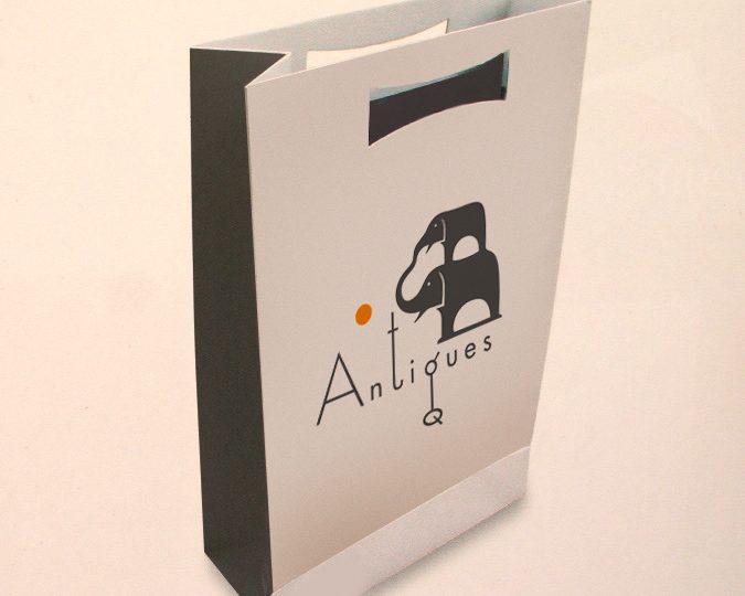 Разработка логотипа антикварного магазина