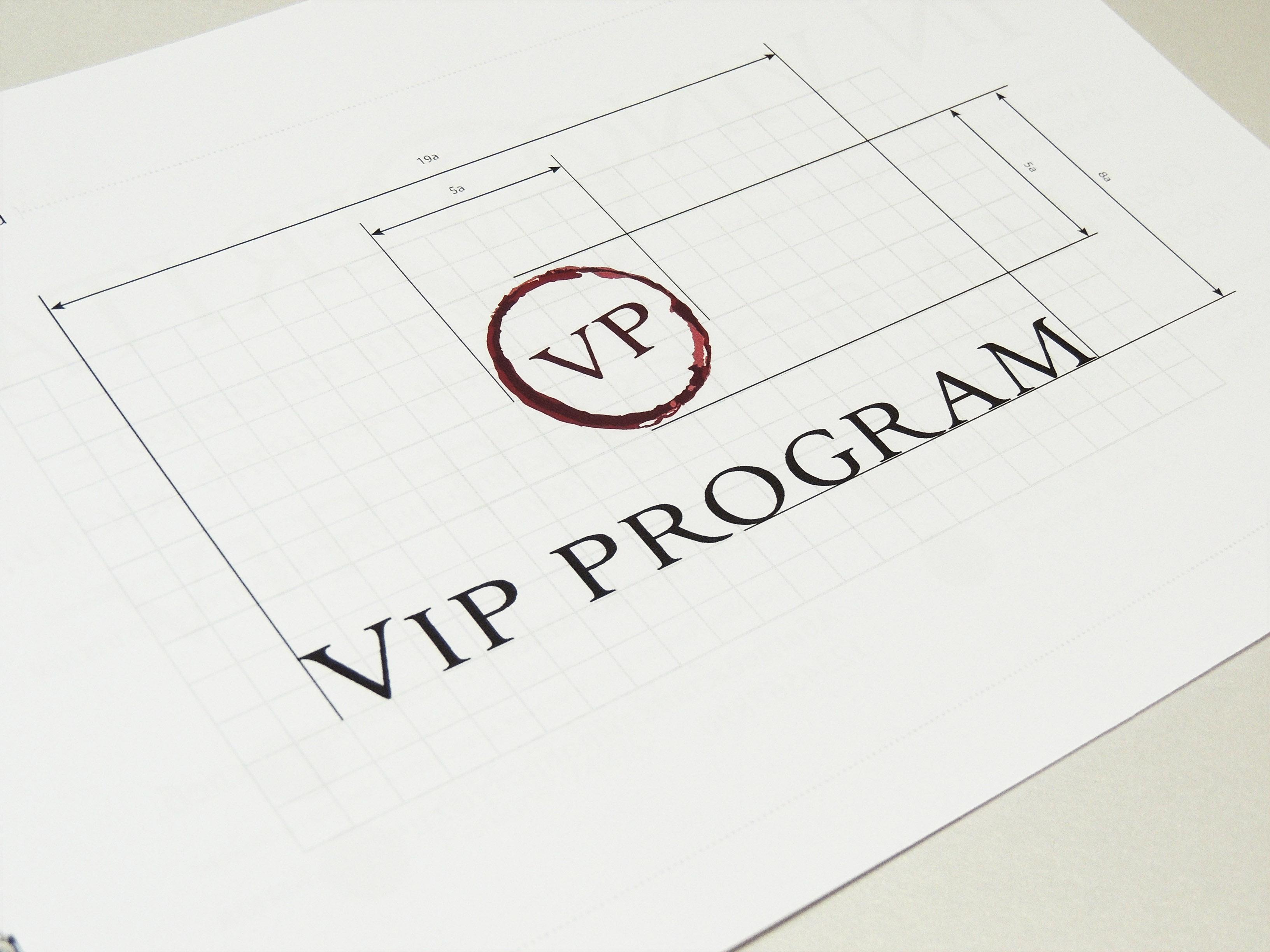 Дизайн логотипа VIP PROGRAMM