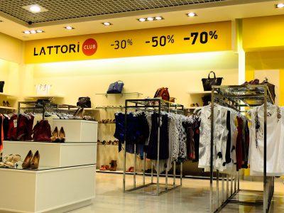 оформление магазина, фирменный стиль