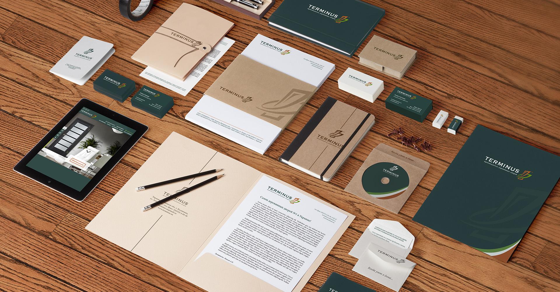 разработка брендбука для завода по производству дверей, The development of a brand book for a factory for the production of doors